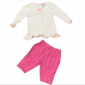 Little lass 2 Pc outfit 18 M